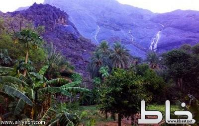 """إعتماد قرية """"غية"""" بمركز خاط وجهة سياحة في عسير"""