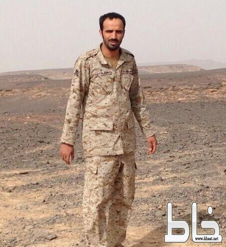 جثمان الشهيد القيسي يوارى الثرى بخميس مشيط بحضور قيادات عسكرية