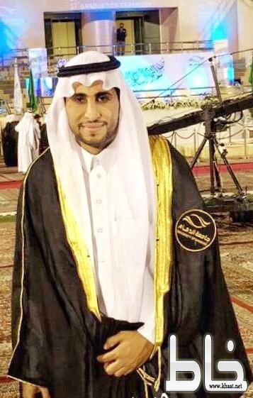 عبدالله البارقي يتخرج من كلية العلوم الطبية التطبيقية