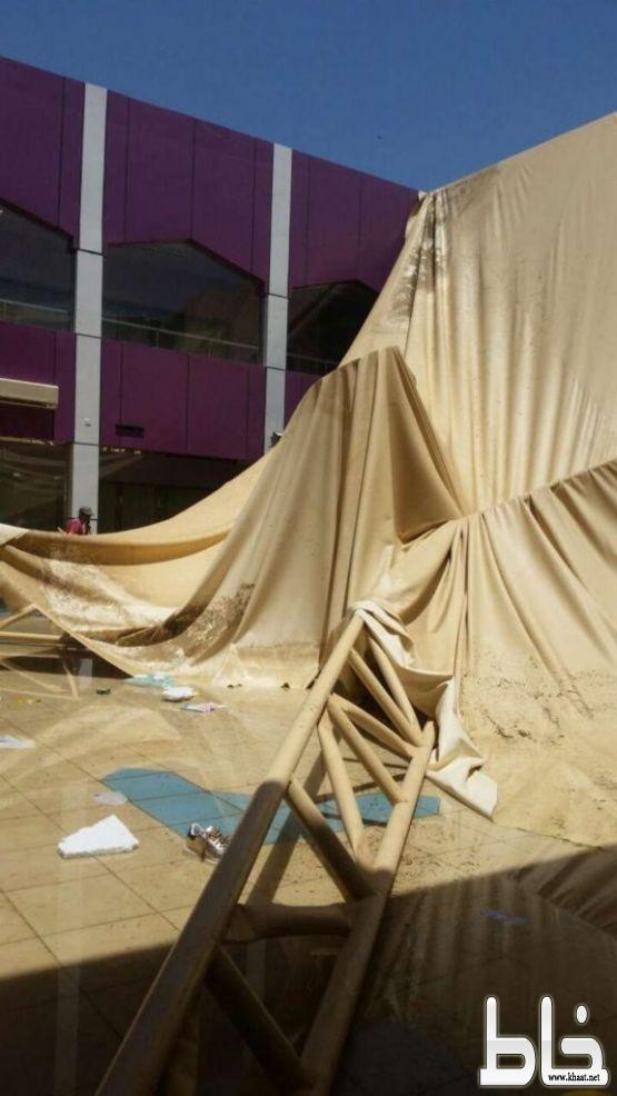 وفاة طالبة وإصابة ٢٦ في انهيار مظلة فناء بثانوية الريش للبنات