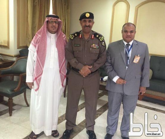 المستشفى السعودي الالماني بعسير يزور مدير شرطة منطقة عسير