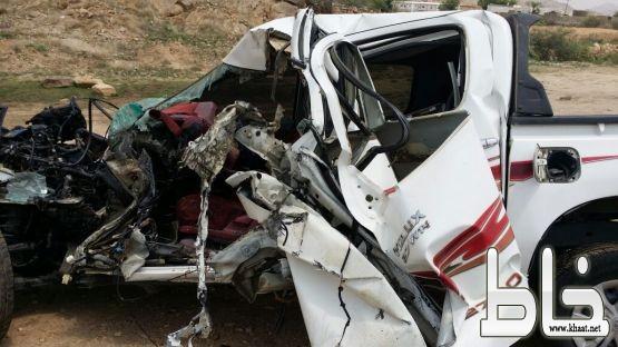 وفاة مواطن في حادث تصادم شنيع على طريق أحد ثربان محافظة المجاردة