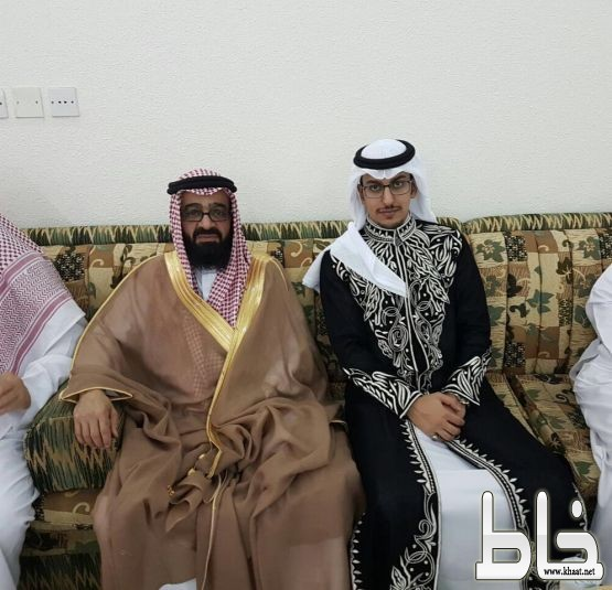 العميد علي دحمان المشهوري يحتفل بعقد قران نجله الاستاذ دحمان