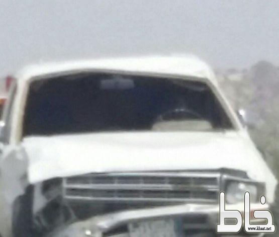 حادث أنقلاب يودي بحياة شاب وإصابة أخرين على طريق السد بأحد ثربان