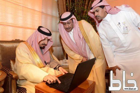 أمير #عسير يدشن فرع الأحوال المدنية بمحافظة #المجاردة