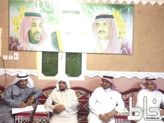 لجنة العلاقات العامة و الإعلام  بالجمعية الخيرية في أحد المسارحة تعقد اجتماعها الأول