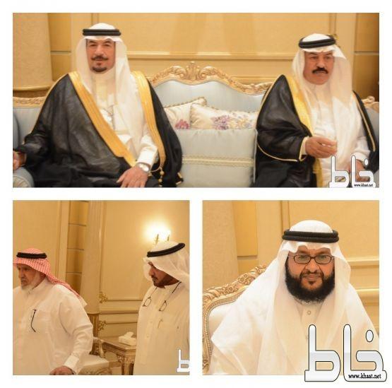 بالصور .. آل ثالبة يحتفون بالشيخ حسن بن حمود آل يتيم واخوانه بالمجاردة