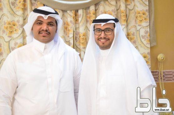 بالصور .. عبد الرحمن علي فتحي يحتفل بعقد قِرانه