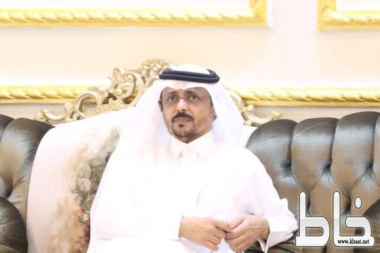 العميد ركن شاكر عبدالله آل خيره في ضيافة الاستاذ محمد ابودية