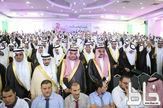 بالصور.. مدير جامعة الملك خالد يرعى حفل تخريج 1636 من طلبة كليات تهامة