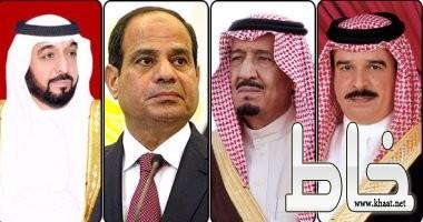 """بيان مشترك لـ""""الرباعى العربى"""".. رفض قطر للمطالب يعكس ارتباطها بالإرهاب..."""