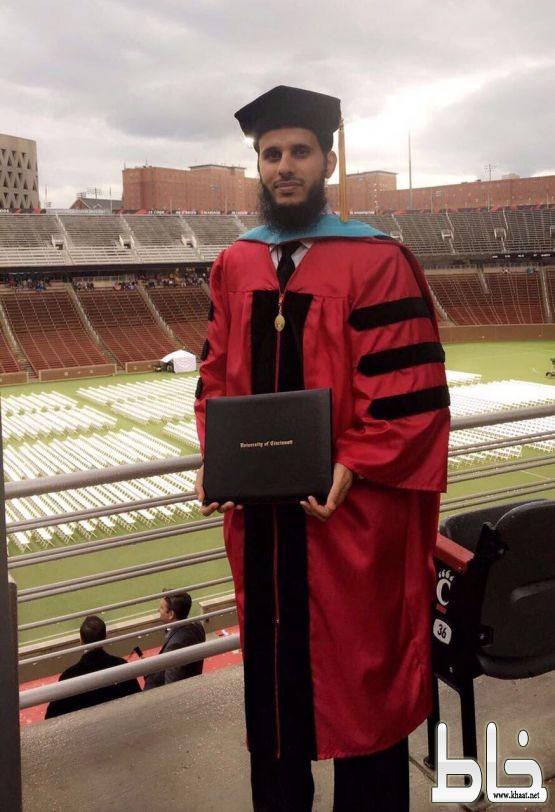 الشهري مبتعث من الجامعة بأمريكا يحوز على الدكتوراه بعد حصوله على أعلى معدل أكاديمي