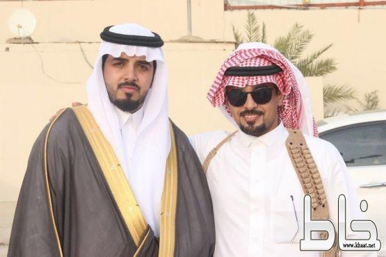 صالح عبد الله القرني يحتفل بزواجه