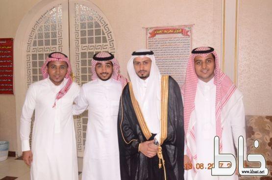 عامر ٱل عبد الواحد،يحتفل بزواج نجله  سعد