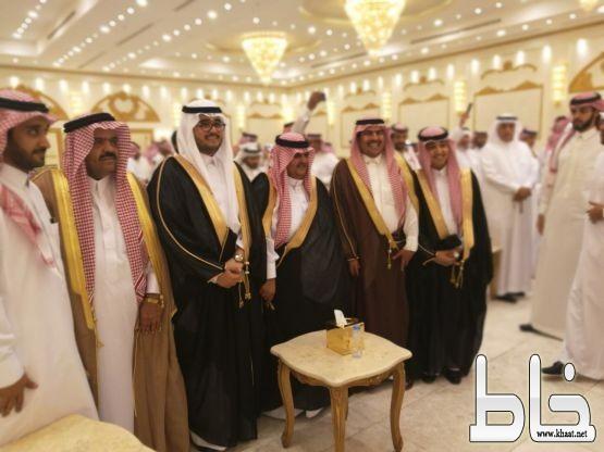 العقيد أحمد زارع آل مريف يحتفل بزواج نجله الدكتور خالد