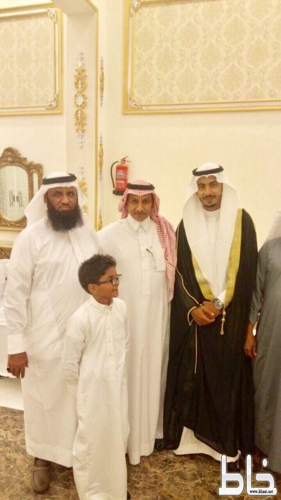 الناشري يحتفل بزواجه من كريمة محمد عايض