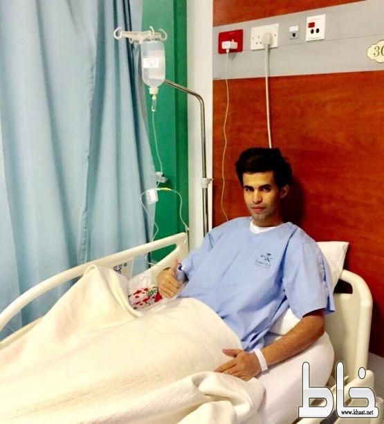 """عبدالله الشهري يجري عملية """" الرباط الصليبي """" بمستشفى عسير"""
