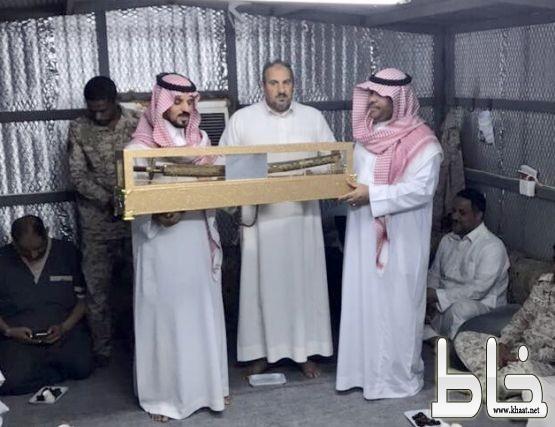 تكريم الرئيس رقباء متقاعد محمد الشهري بعد 30 عام في خدمة الدين والوطن