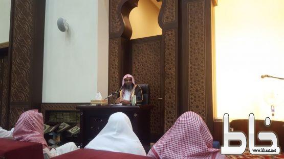 محاضرة الداعية ابو شريفة تعلن انطلاق البرنامج الدعوي في ملتقى المجاردة الشتوي