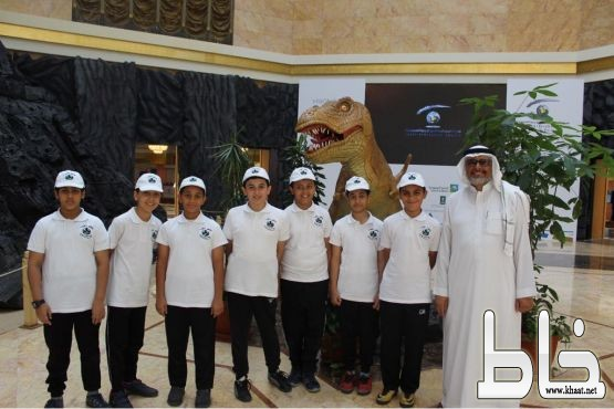 فريق جلوب بالنموذجية الثالثة يزور المعرض المصاحب لفعاليات المؤتمر الجيولوجي الـ12
