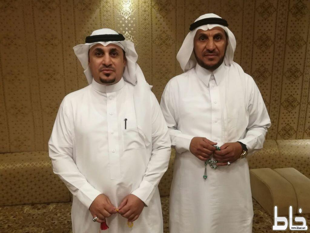 """""""عبدالعزيز""""و """"سعد العمري يحتفلون بمناسبة قدوم موالديهم"""