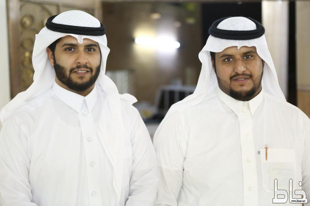الشابان محمد العمري وسامي الشهري يحتفلان بعقد قرآنهما على كريمتي محمد بن دريبش العمري