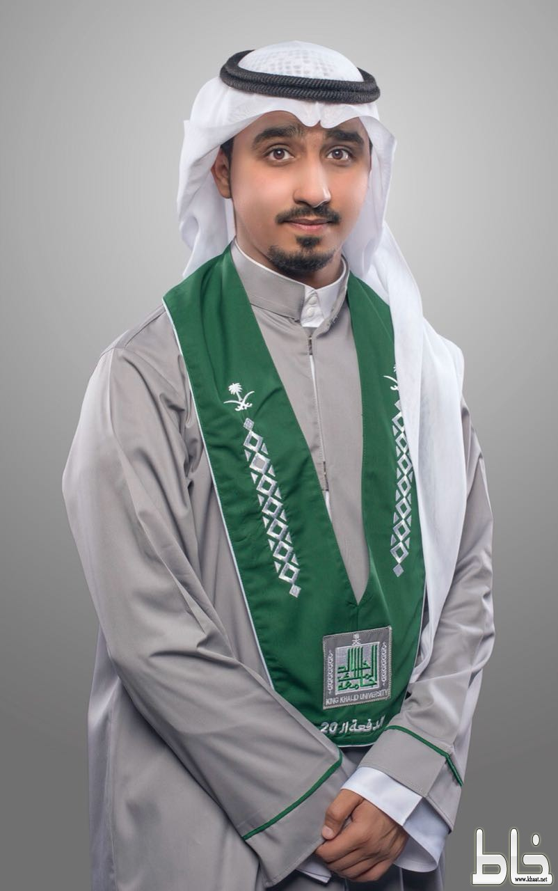 الزميل الإعلامي عبد الله الراجحي يحتفل بتخرجه من جامعة الملك خالد