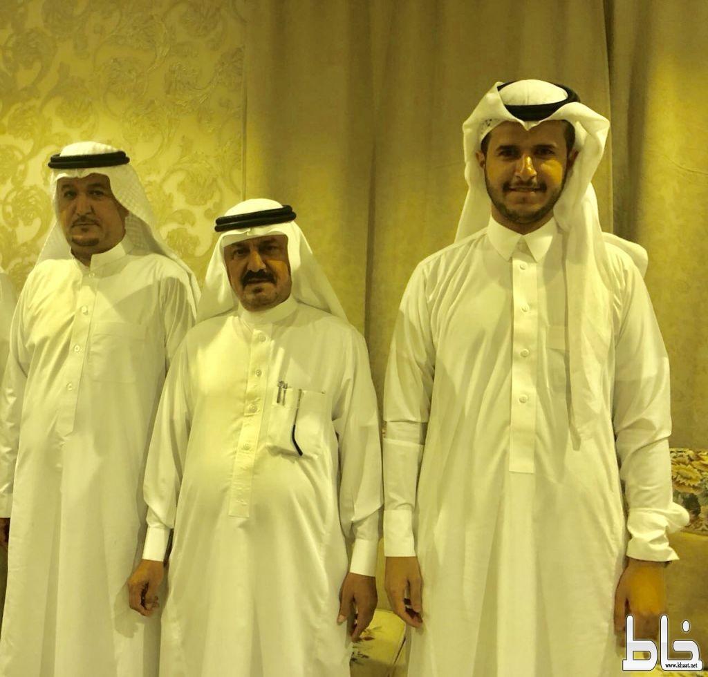 الشاب عبدالله بن دليم يحتفل بعقد قرانه