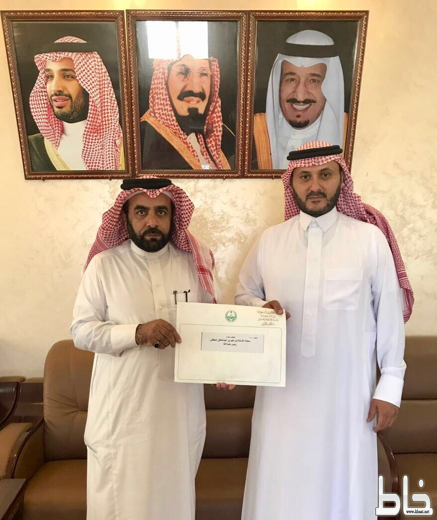 رئيس بلدية قنا يتلقى خطاب شكر من أمير عسير
