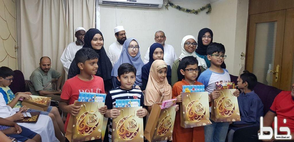 """بالصور .. حفل تكريم الحافظين والحافظات لكتاب الله من ابناء المجمع السكني لبنك التنميه الاسلامي بجدة"""""""