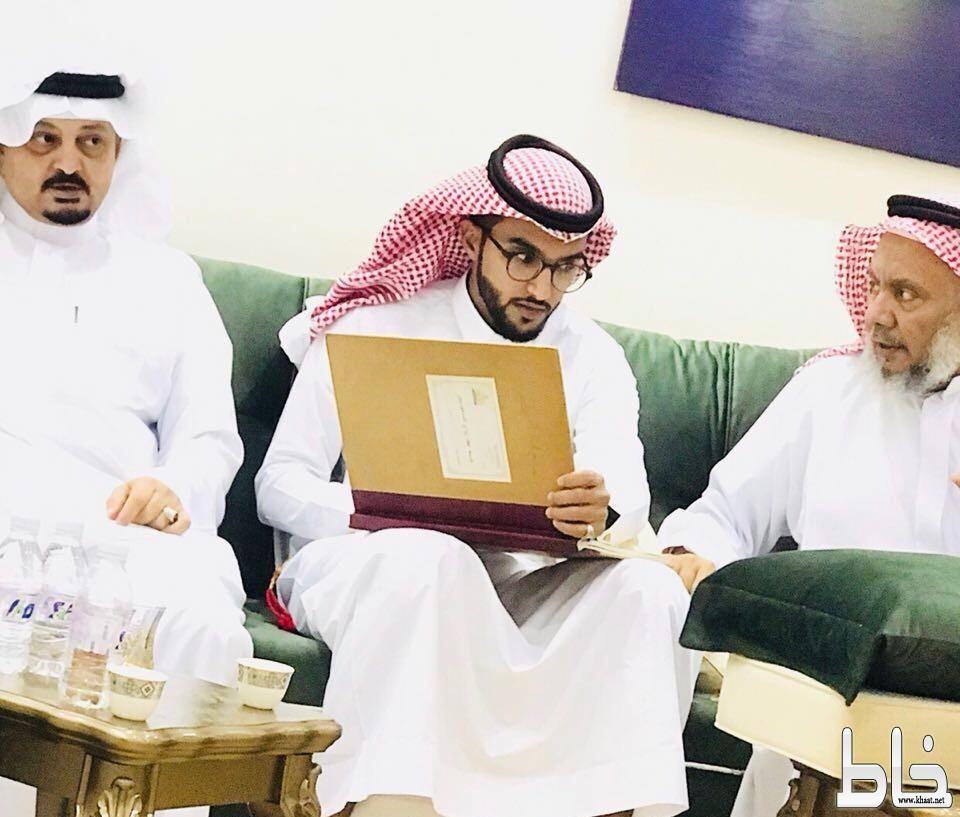 محمد البارقي يحتفل بعقد قرانه