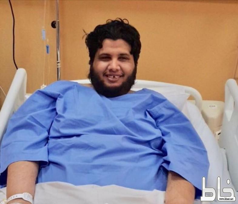 """الاعلامي أحمد البارقي """" معلوي """" يجري عملية جراحية"""