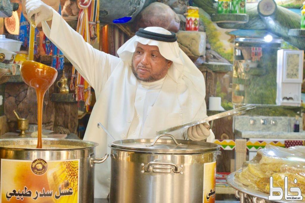 قناة العربية تغطي أكبر إناء للعسل في العالم بمحافظة المجاردة