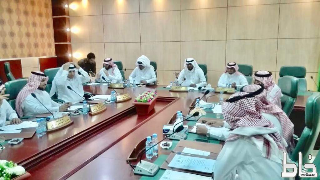بلدي بارق يعقد جلسته الـ37 و يناقش أحتفال وطني 88 و مشاريع درء أخطار السيول