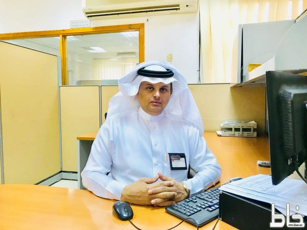 عبدالرحمن العمري مديراً لمركز خدمات كهرباء المجاردة