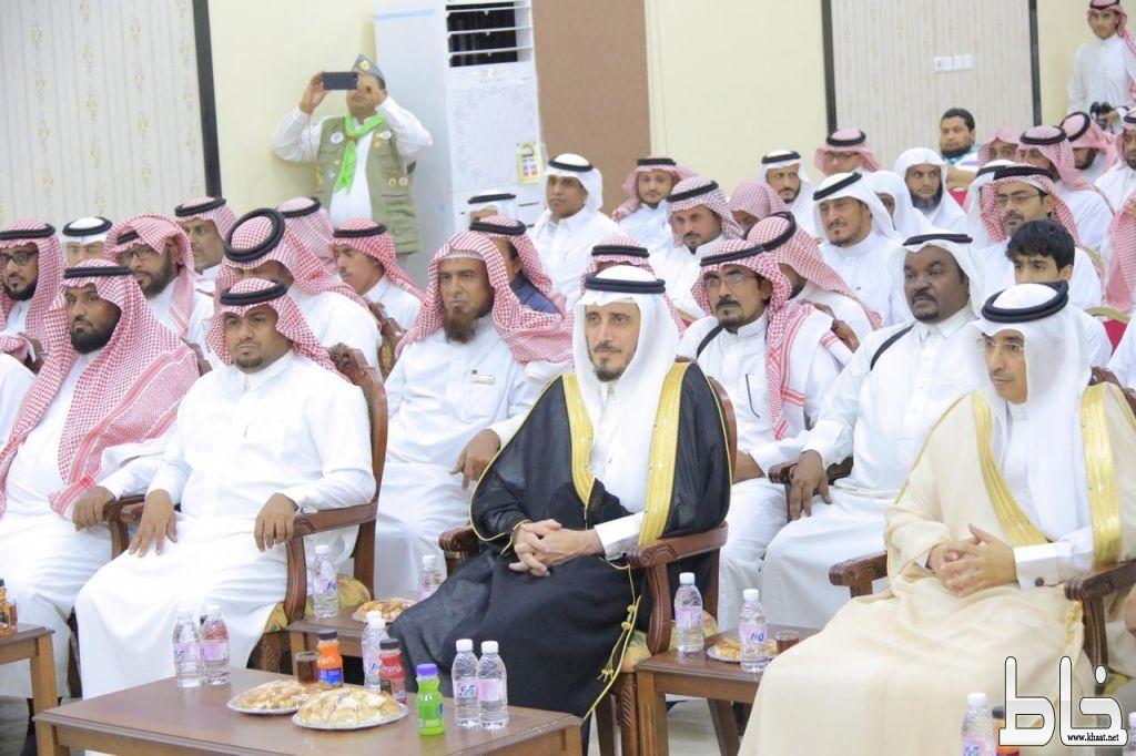 """محافظ بارق يرعى الندوة الوطنية """"معالم المواطنة الحقة"""" و جمعية البر تكرم أسر الشهداء"""