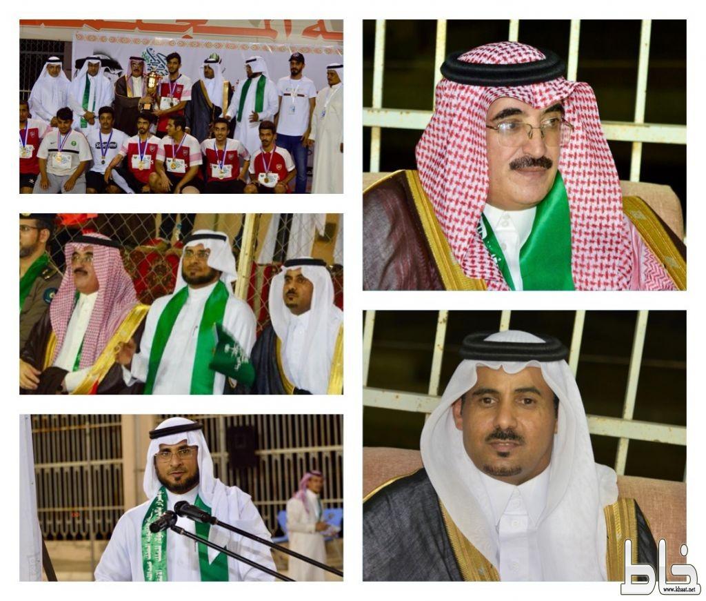 برعاية آل حموض والطارقي مدرسة الملك عبدالله بخاط تبدع في الاحتفال بالوطن