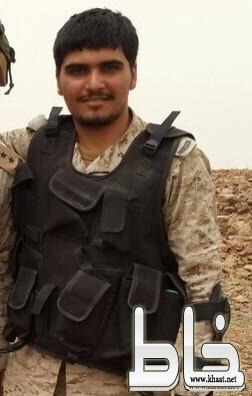 اصابة العريف محمد جحني الشهري على الحد الجنوبي