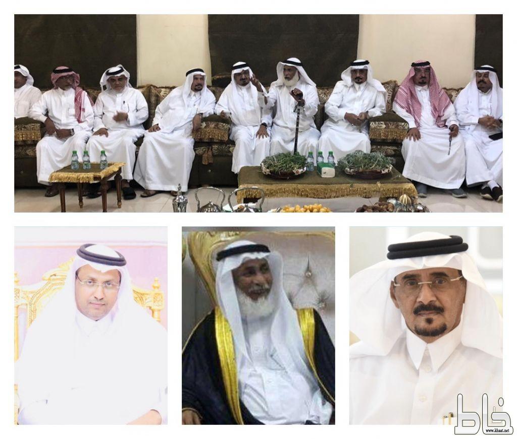 الشيخ عاطف بن شاكر في ضيافة العميد سعد العمري