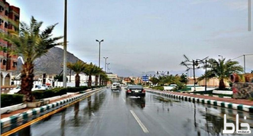الأرصاد تنبه من هطول أمطار على محافظة المجاردة