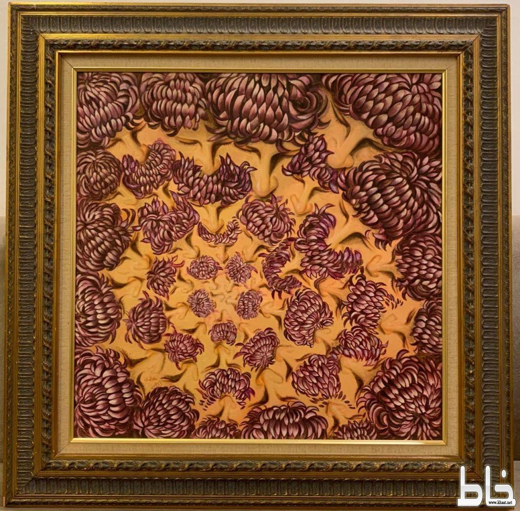 الفنانة امل علم تتأهل في مسابقة الإبداع العربي بلندن