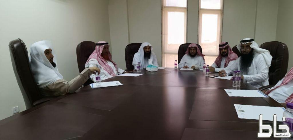 هيئة محافظة محايل تناقش الخطط المعدة لموسم الشتاء
