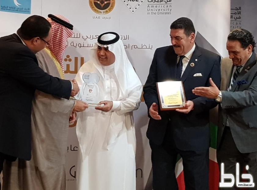 """عربي الثقافة الرياضية يقلد أوسكار """"القيادة الرياضية"""" لتركي آل الشيخ"""