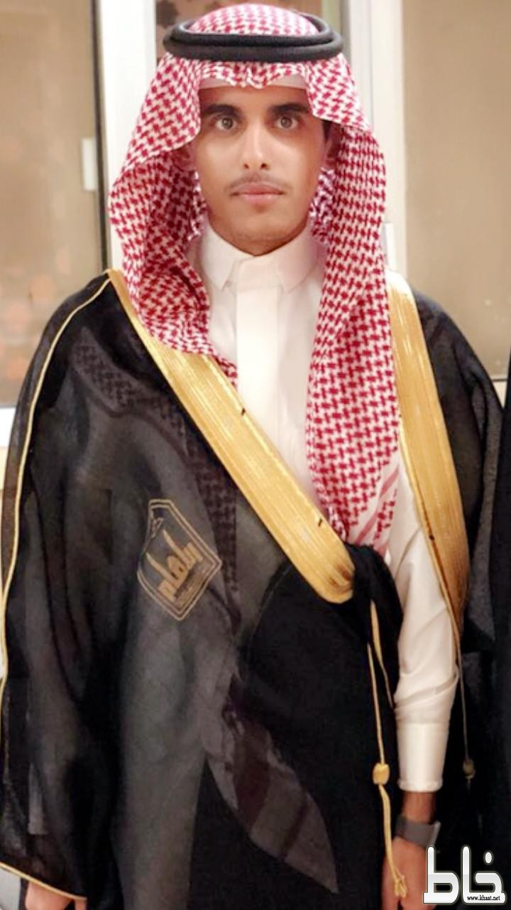 عبدالله بن زبران يحتفل بتخرجه