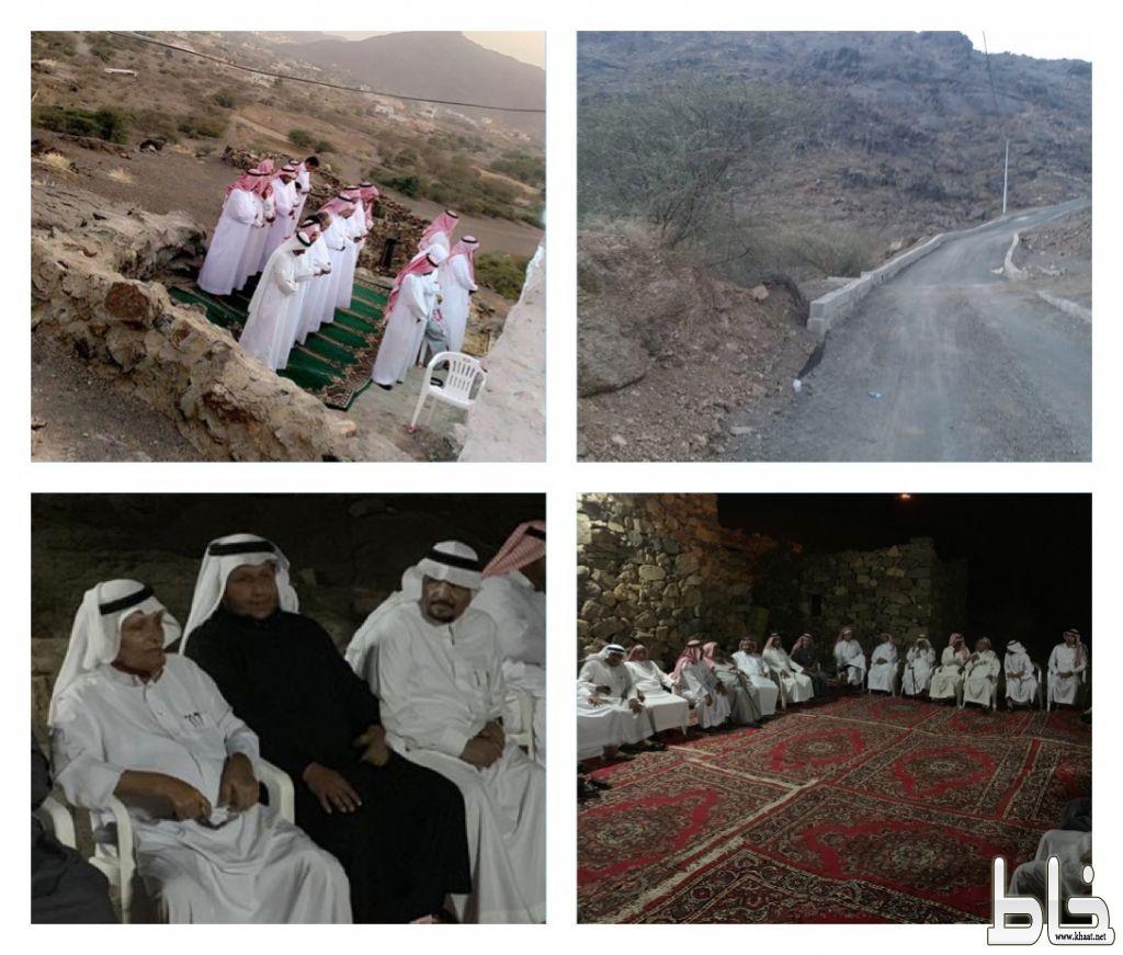 الشيخ محسن بن قحطان وقبيلة آل امغايب يعيدون ترميم قرية الوقرين التراثية