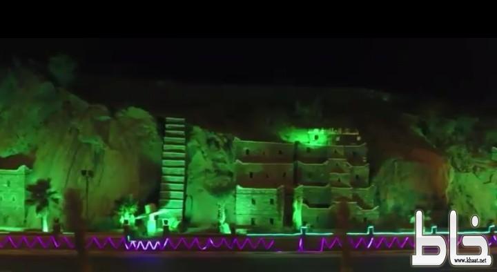 شلال الملك فهد.. تحفة فنية معطلة في بارق