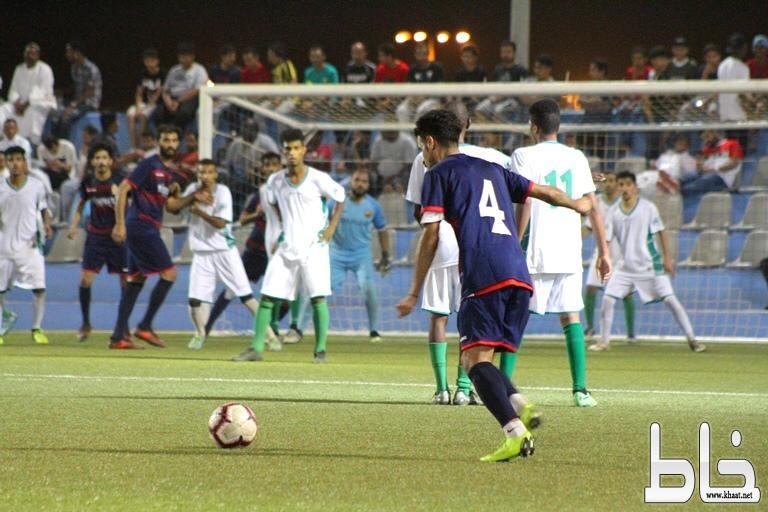 في ختام دور الـ 16 من دورة بلدية بارق على كأس أمير منطقة عسير