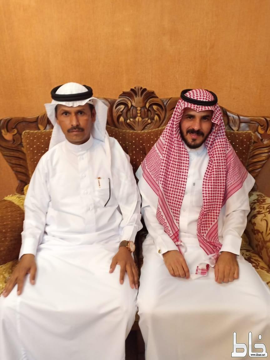 احمد سعيد الشهري يحتفل بعقد قرانه
