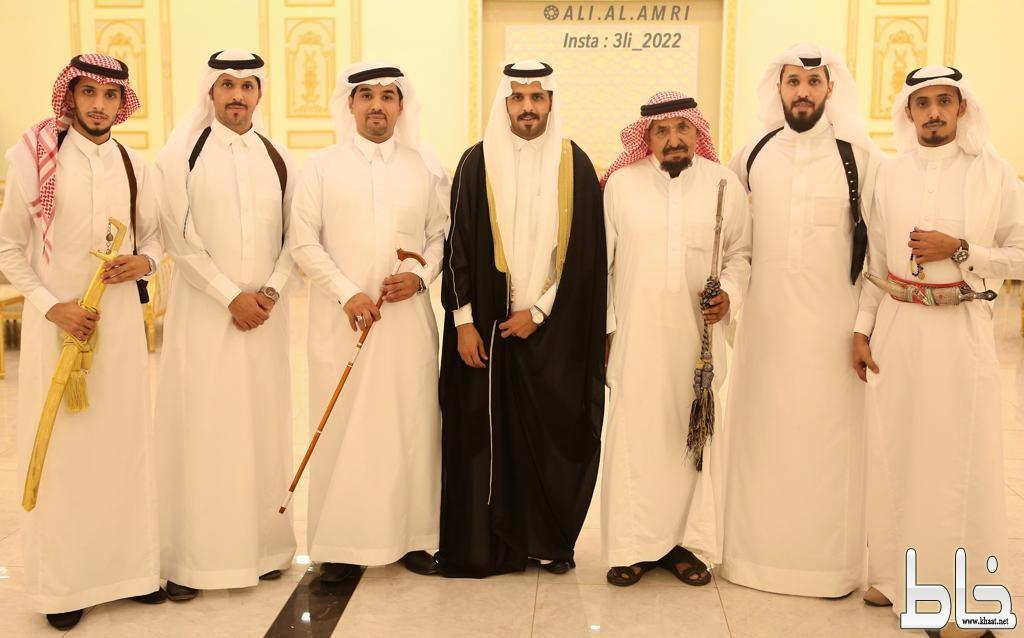"""آل خلوفه يحتفلون بزواج نجلهم """" خالد """""""