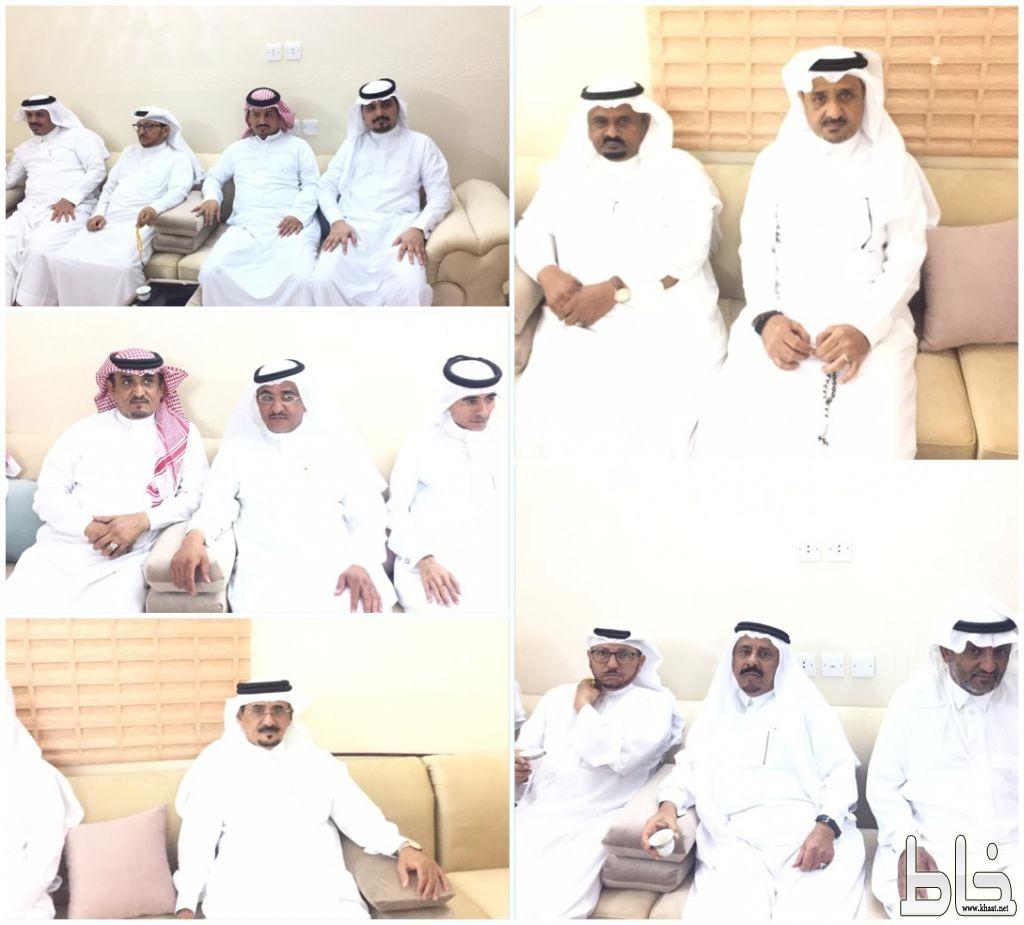 اسرة ال خيره واسرة ال ضاوي يحتفون بالأستاذ حسن ادريس واخوانه والاستاذ غازي سراح واخوانه